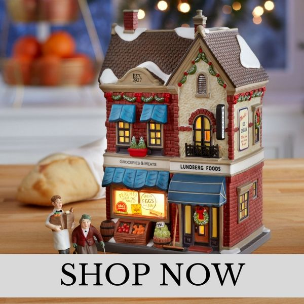 Department 56 - Christmas In The City - Christmas Village Set
