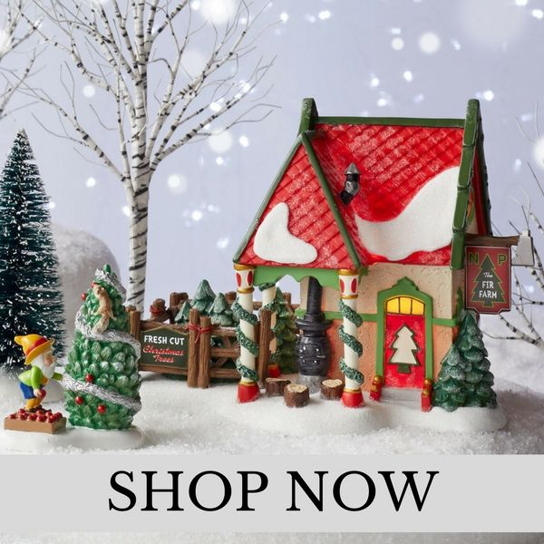 Department 56 - North Pole Village - Christmas Village Set