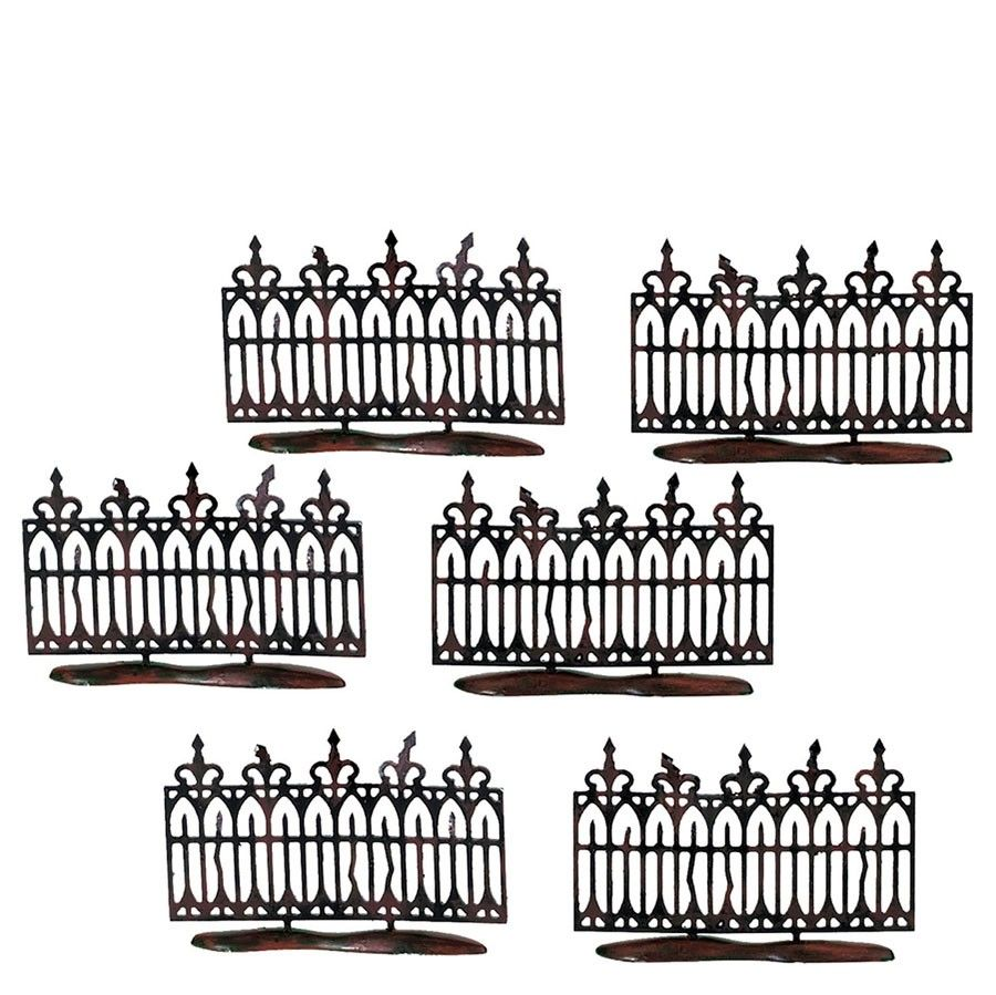 Department 56 Halloween Accessory - Spooky Iron Fence 2001