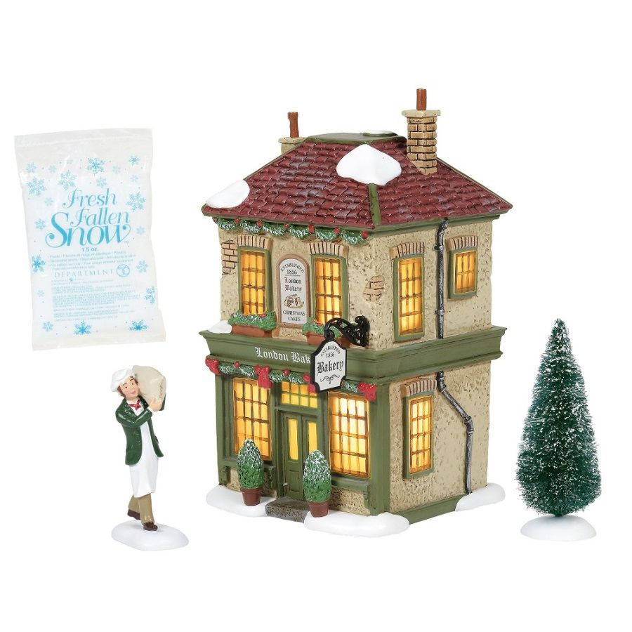 Dept 56 Dickens Village Silver Series - London Bakery 2020