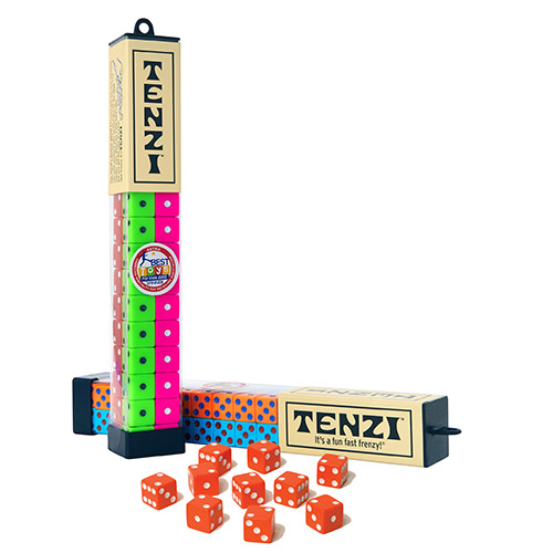 Dice Game - TENZI Frenzy - 4 Sets of Dice/Tube - Single Tube