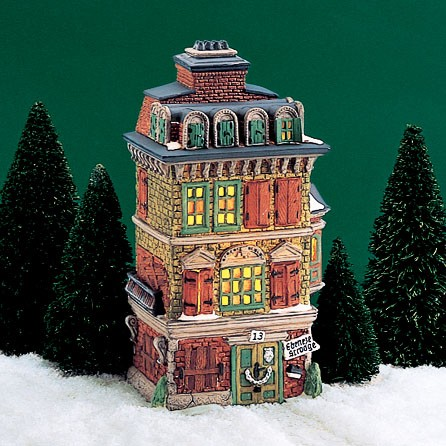 Dickens Village - Estate - Flat of Ebenezer Scrooge 1989