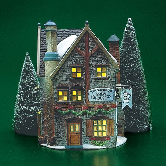 Dickens Village - Estate - Kingsford Brew House 1993