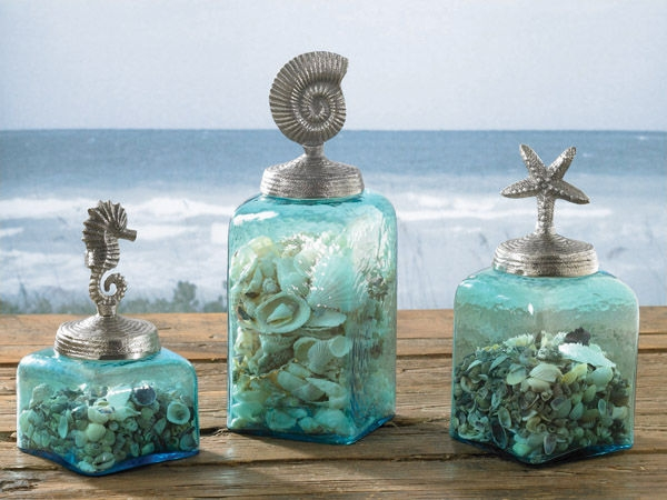 Decorative Dishes, Glasses, Jars and Bottles - Decor