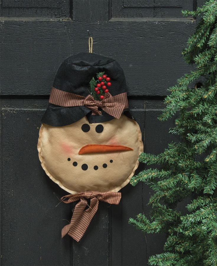 Door Hanger - Snowman - 15in