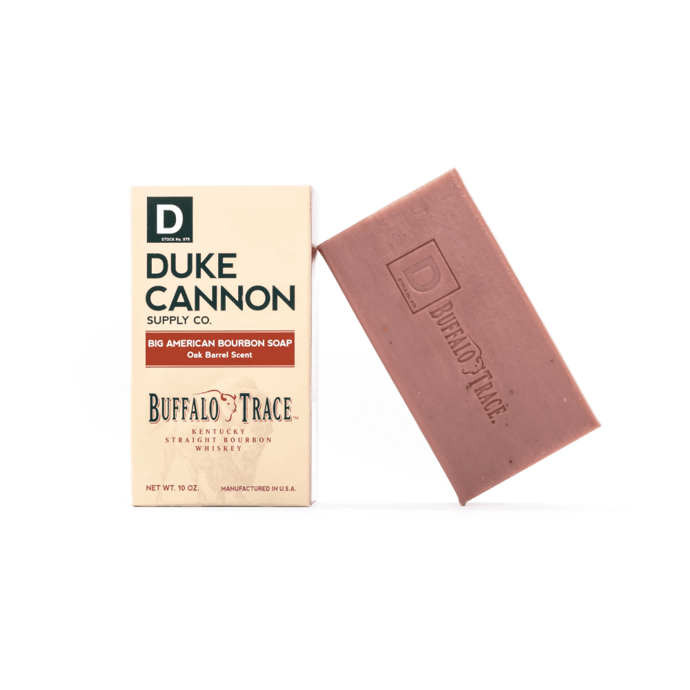 Duke Cannon Soap - Big Brick of Buffalo Trace Bourbon Soap