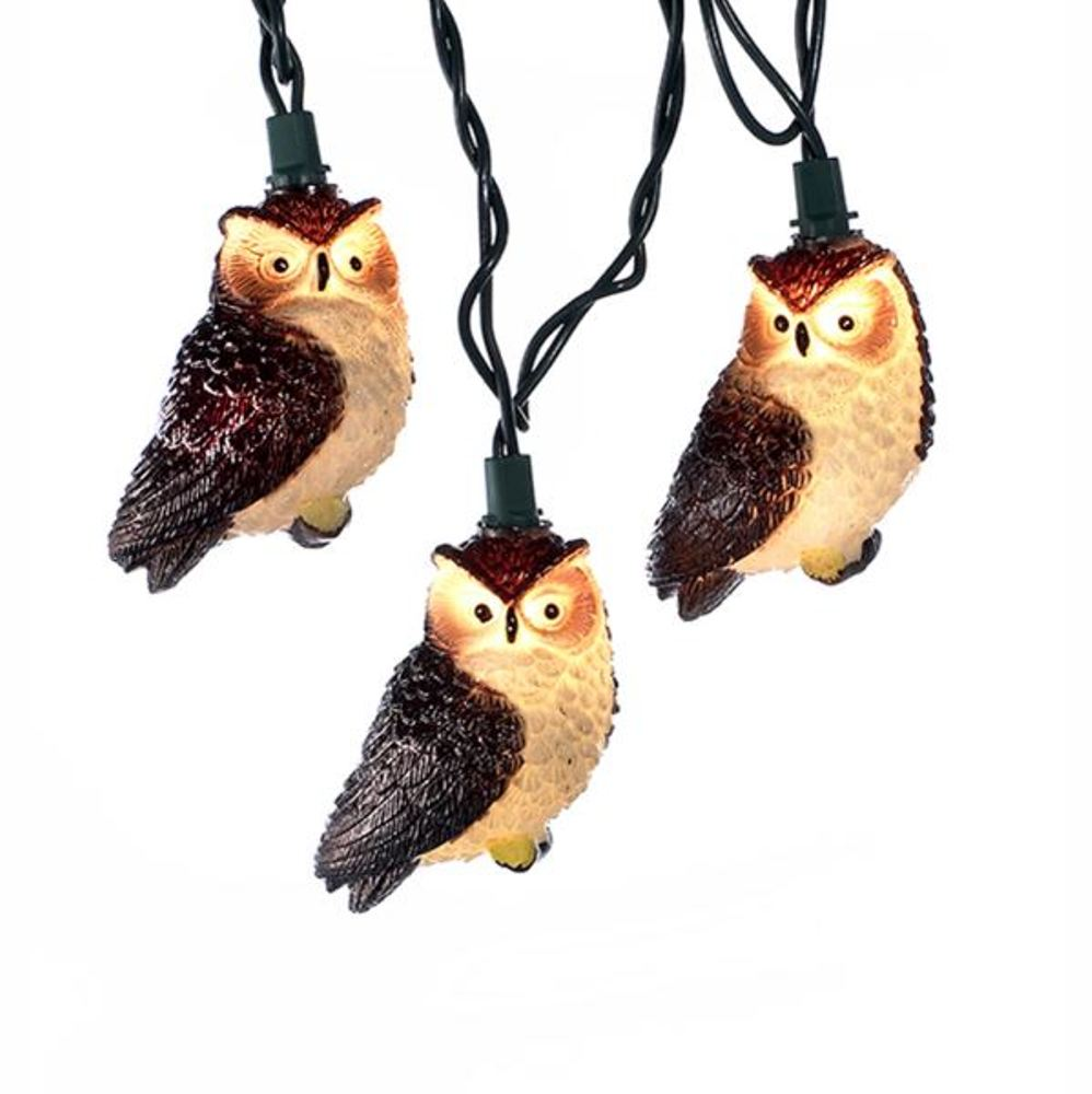 Light Set - Brown Owl - Set of 10