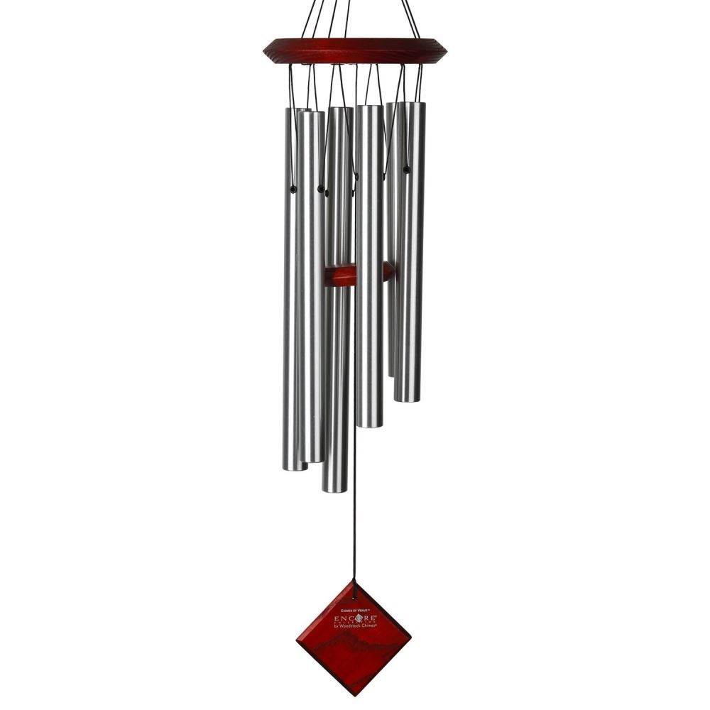 Woodstock Windchimes - Chimes of Pluto - Silver