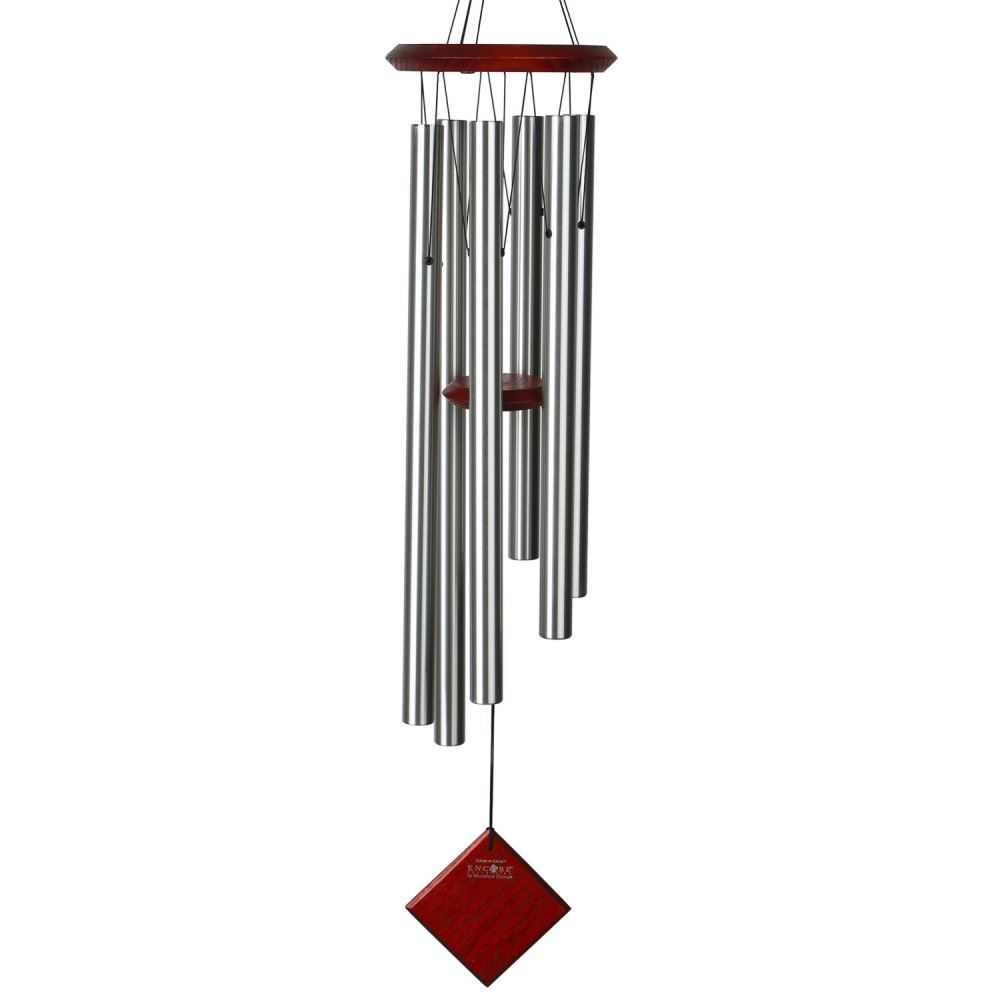 Woodstock Windchimes - Chimes of Earth - Silver