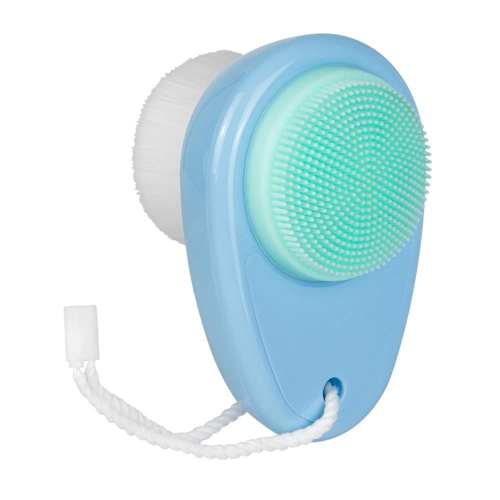 Facial Cleansing Brush - Exfoliating Pad - 2-in-1