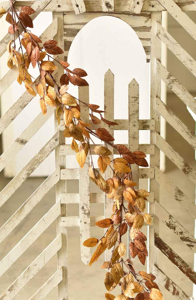 Fall Leaves Garland - Mixed Fall Leaves - 64 Inch