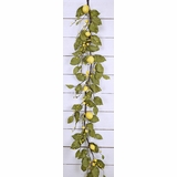 "Floral Garland - ""Tuscany Lemon Garland"" - 4 Ft"