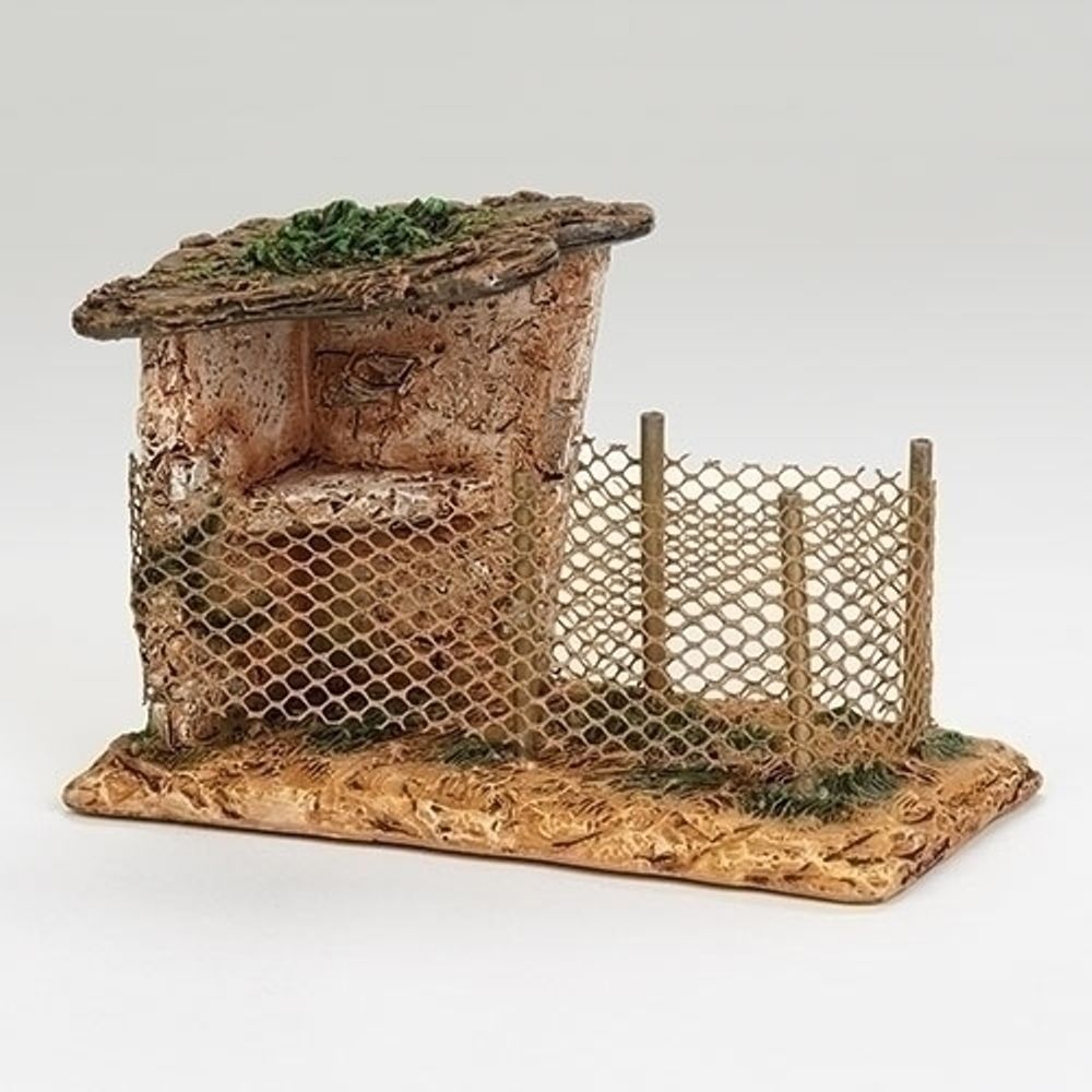 Fontanini Nativity - 5in Collection - Bird Shelter
