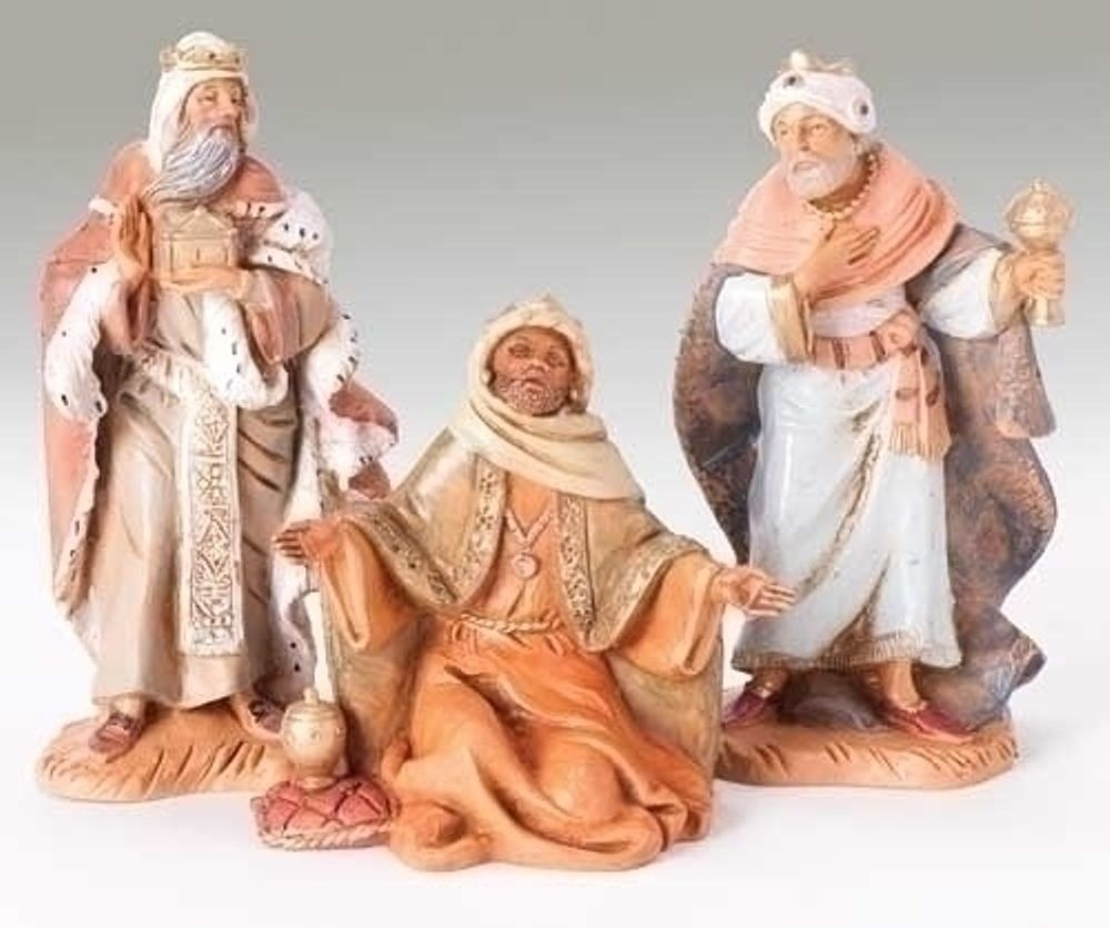 Fontanini Nativity - 5in Collection - Three Kings - 3pc Set