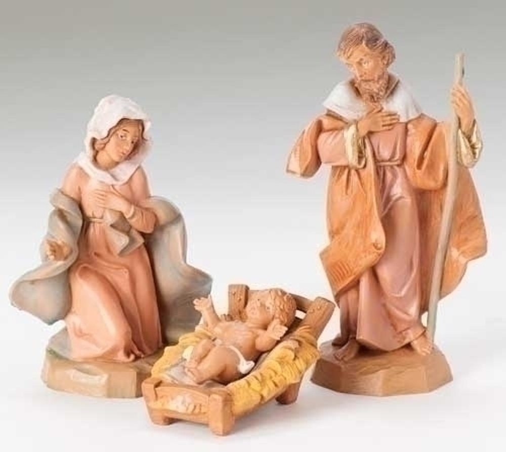 Fontanini Nativity - 5in Collection - Holy Family - 3pc Set