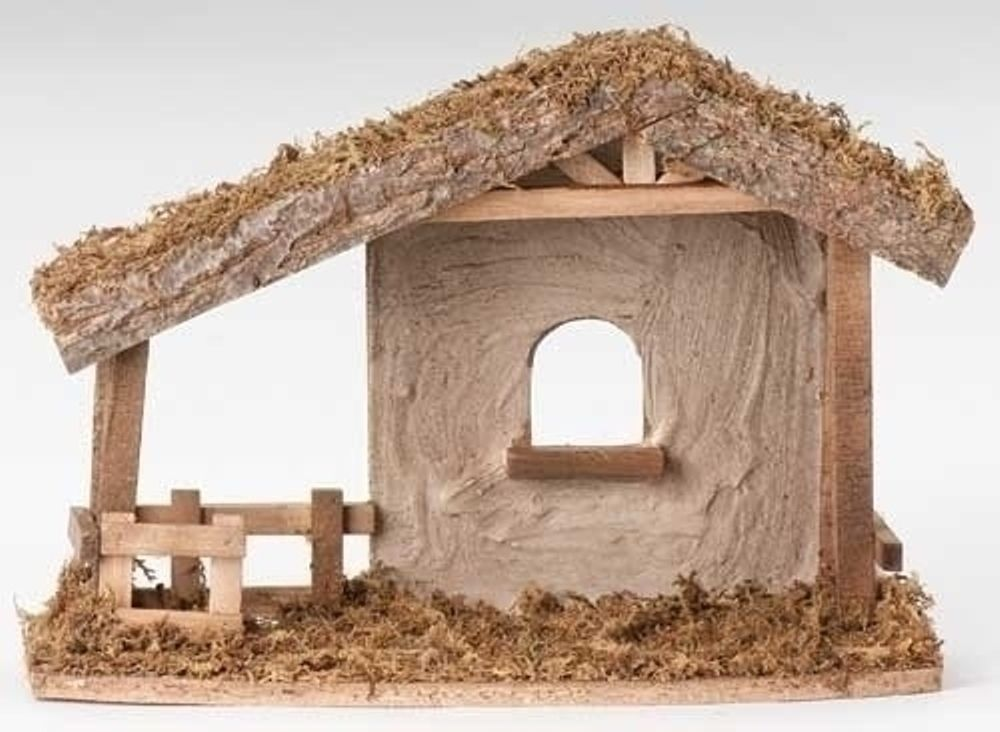 Fontanini Nativity - 5in Collection - Stucco Stable