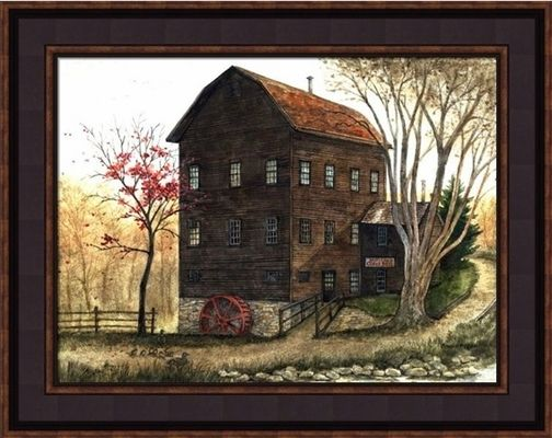 Framed Country Art by Bonnie Fisher � Country Wall Decor