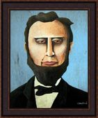Framed Picture - Abraham Lincoln - 20x24 - Tim Campbell