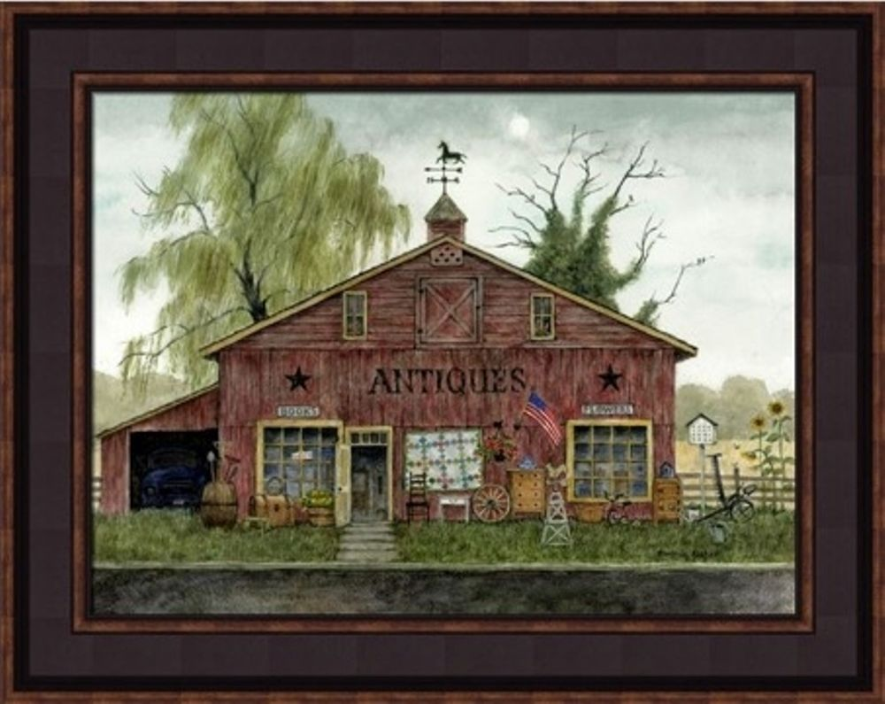 Framed Print - Antique Barn - 12x16 - Bonnie Fisher