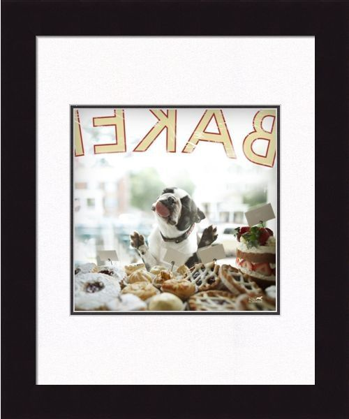 "Framed Picture  - ""Biscuit"" - 20in  x 24in - Artist Ron Schmidt"
