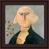Framed Picture - George Washington - 20x20 - Tim Campbell