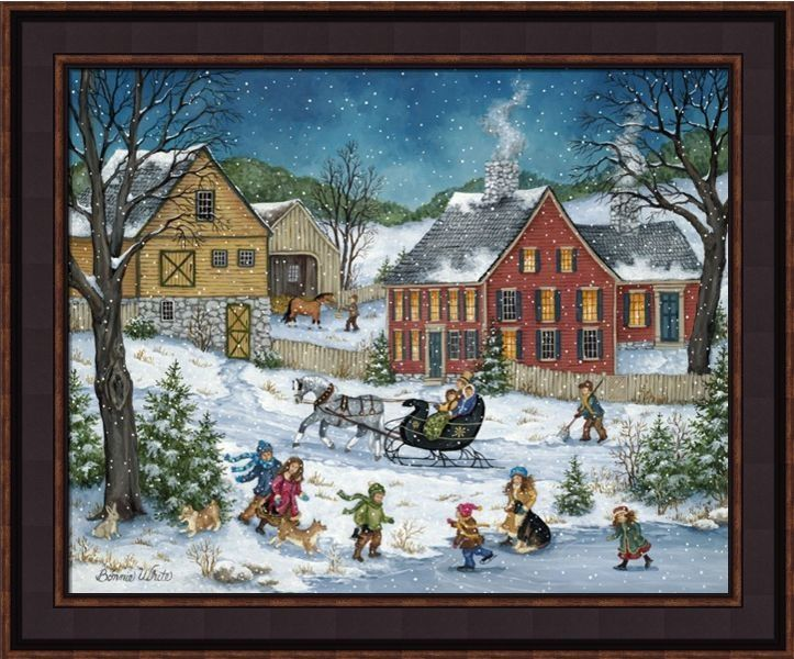 Framed Print - How's The Ice - 20x24 - Bonnie White