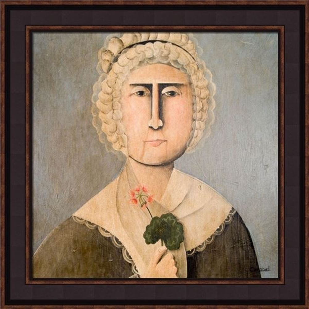 Framed Picture - Martha Washington - 20x20 - Tim Campbell