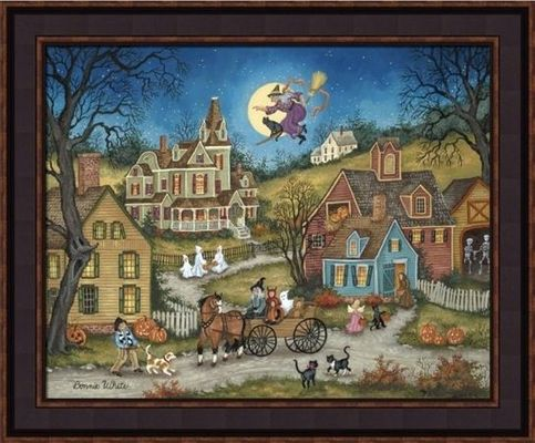 Framed Print - The Witching Hour - 16x20 - Bonnie White