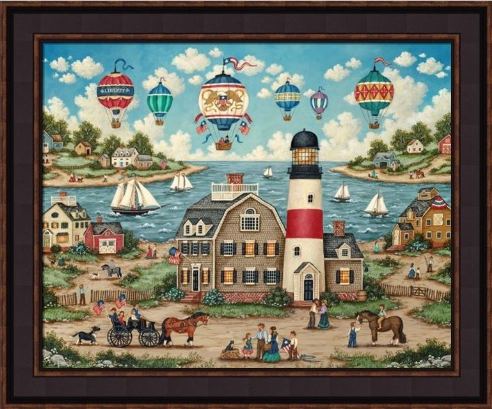 Framed Print - Balloons Over The Bay - 20x24 - Bonnie White