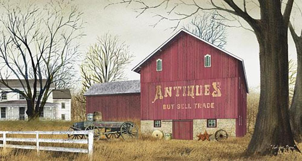 Framed Print - Antique Barn - 32x26 - Billy Jacobs