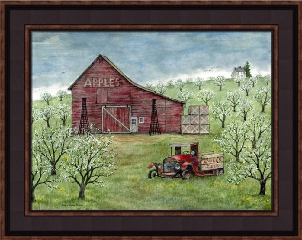 Framed Print - Apples & Cider - 20x16 - Bonnie Fisher