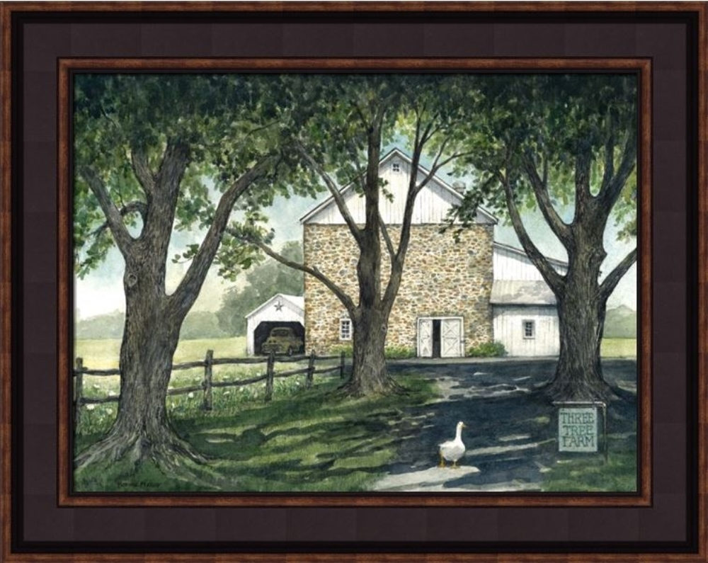 Framed Print - Duck Walking - 16x20 - Bonnie Fisher