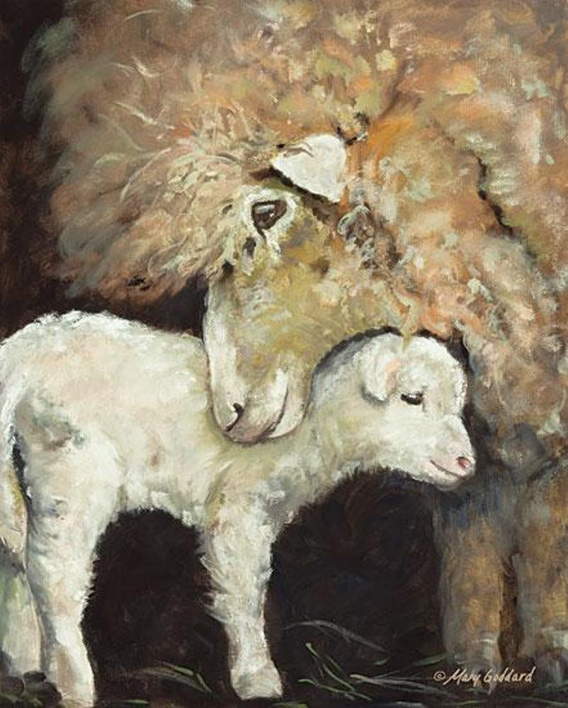 Framed Print - Love Ewe - 16x20 - Mary Goddard
