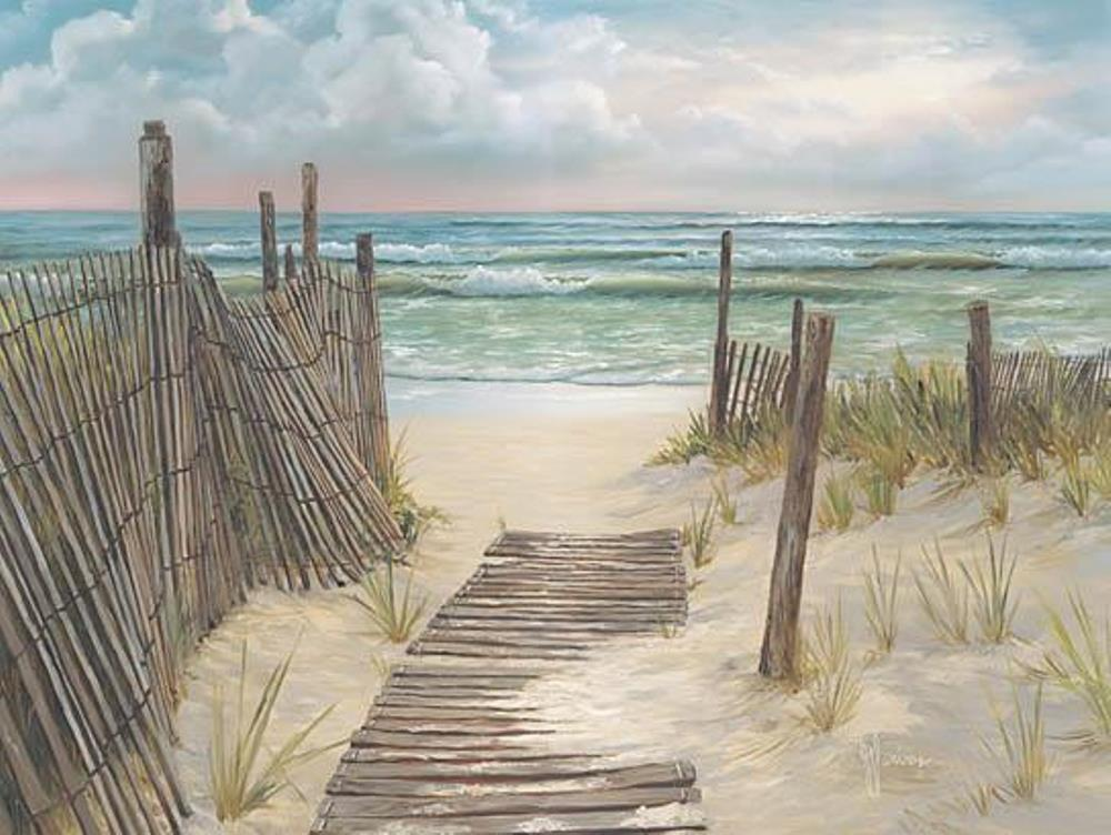 Framed Print - Path to the Ocean - 16x20 - Georgia Janisse