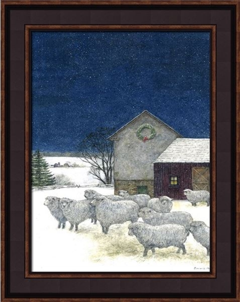 Framed Print - Silent Night - 16x20 - Bonnie Fisher