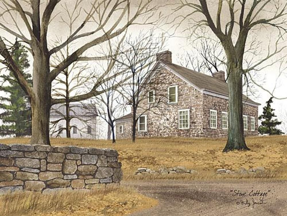 Framed Print - Stone Cottage - 12x16 - Billy Jacobs