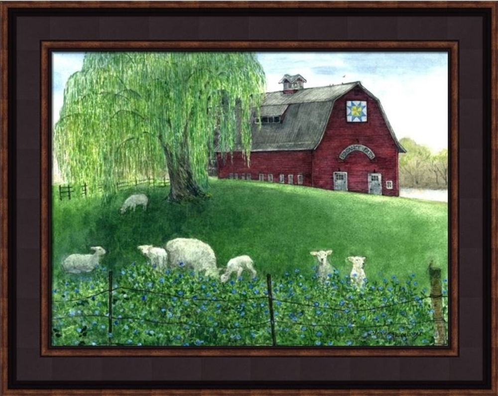 Framed Print - Sundance Farms - 20x16 - Bonnie Fisher