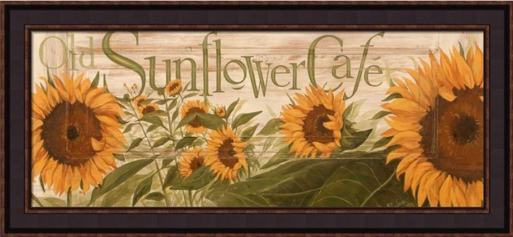 Framed Print - Sunflower - 34x16 - Terri Palmer