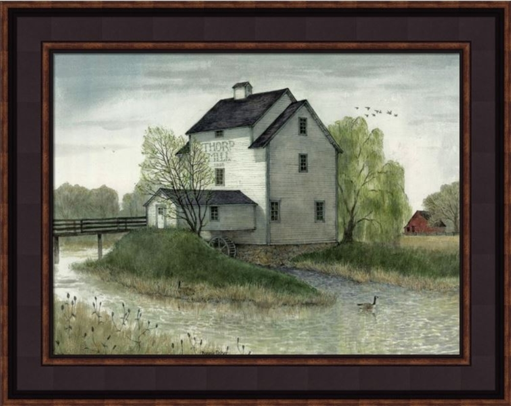 Framed Print - Thorpe Mill - 16x20 - Bonnie Fisher