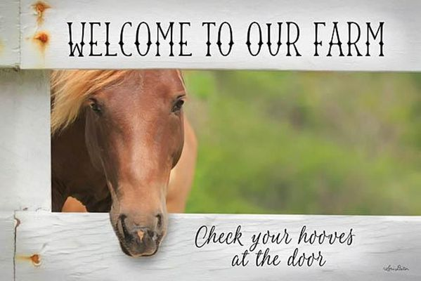 Framed Print - Welcome Horse - 22x16 - Lori Deiter
