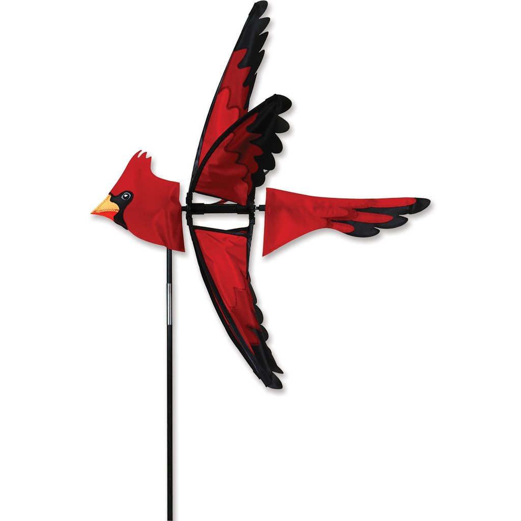 Garden Wind Spinner - Cardinal - Kinetic - 25in