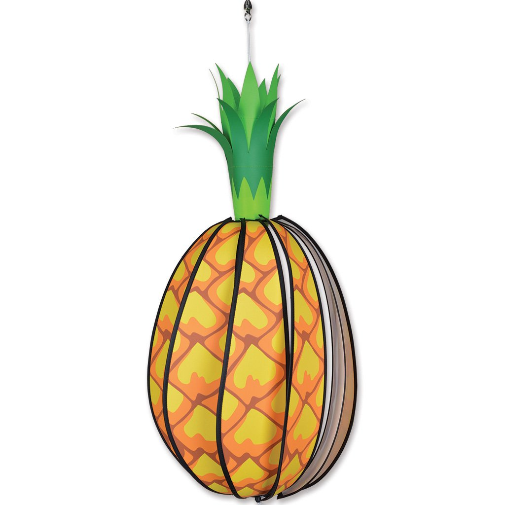 Garden Wind Spinner - Hanging Pineapple - Kinetic - 12in