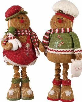 Gingerbread Figurines and Ornaments � Holiday Decor