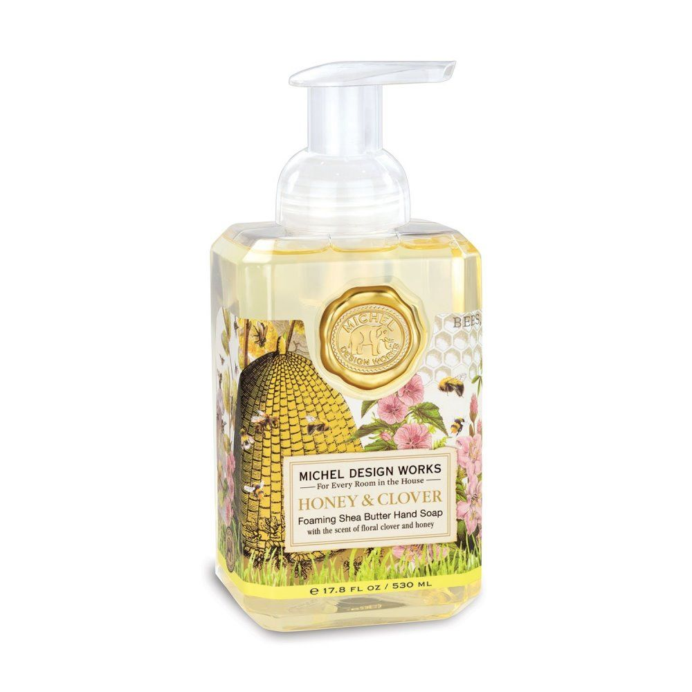 Michel Design Works - Foaming Hand Soap - Honey & Clover
