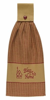 "Hand Towel - ""Bless This Home Hand Towel"""