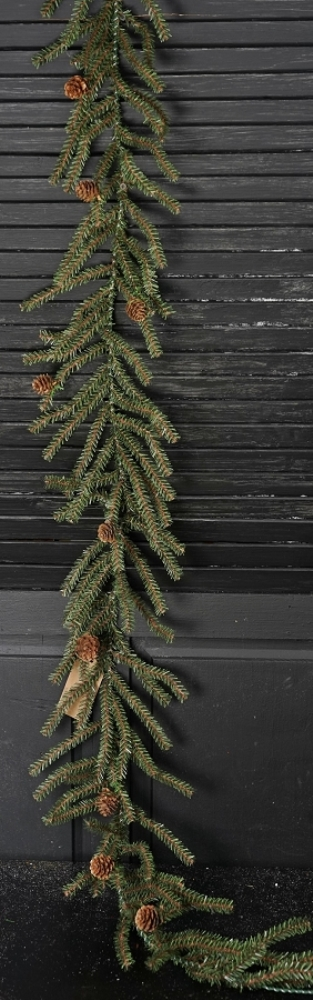 Holiday Garland - Goose Feather Pine - 5 ft