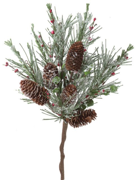 Artificial Holiday Flowers, Stems & Holiday Picks