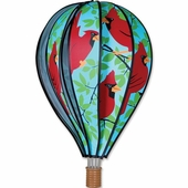 Hot Air Balloon Wind Spinner - Cardinal - Kinetic - 22in