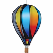 Hot Air Balloon Wind Spinner - Sunset - Kinetic - 22in