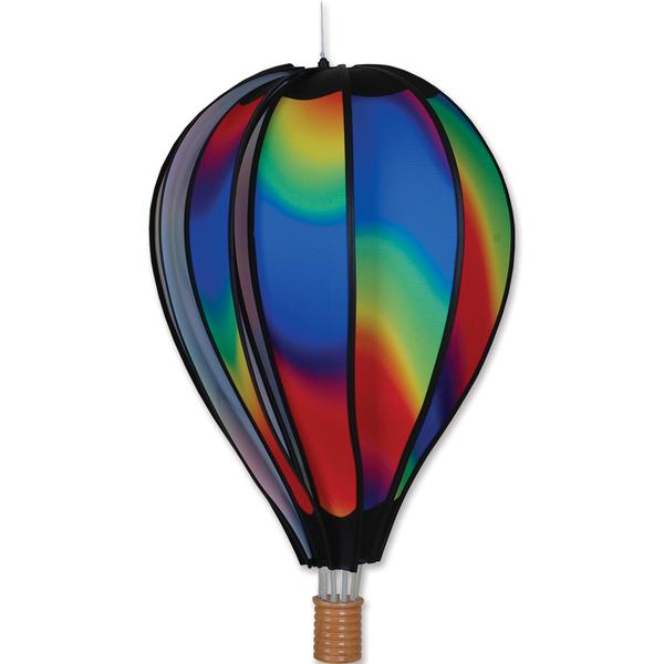 Hot Air Balloon Wind Spinner - Wavy - Kinetic - 22in